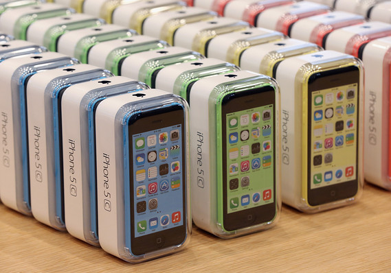 Amid the Success of the iPhone 5s, How is the iPhone 5c Doing?